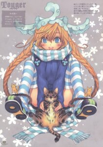 Rating: Safe Score: 17 Tags: kawaku neko thighhighs User: blooregardo