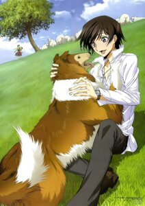 Rating: Safe Score: 20 Tags: c.c. code_geass lassie lelouch_lamperouge nakatani_seiichi User: Aurelia