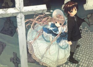 Rating: Safe Score: 51 Tags: gosick kujo_kazuya lolita_fashion takeda_hinata victorica_de_broix User: castle
