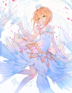 Rating: Safe Score: 53 Tags: card_captor_sakura dress kinomoto_sakura miyuki_(miyuki_05290) wings User: RyuZU