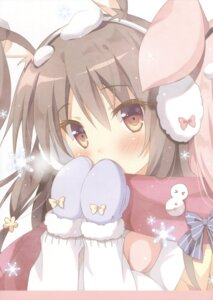 Rating: Safe Score: 32 Tags: animal_ears bunny_ears pan pan_no_mimi User: Twinsenzw