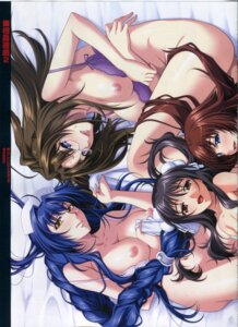 Rating: Questionable Score: 15 Tags: bra breasts fixme megane nipples nopan soukan_yuugi_2 stitchme yoshino_keiko User: es