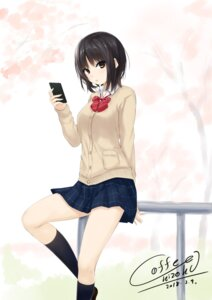 Rating: Safe Score: 40 Tags: aoyama_sumika coffee-kizoku seifuku sweater User: saemonnokami