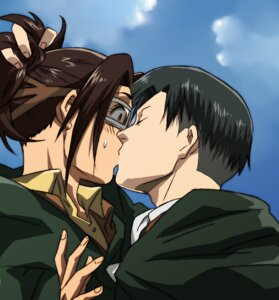 Rating: Safe Score: 13 Tags: dazya hanji_zoe levi shingeki_no_kyojin User: Ulquiorra93