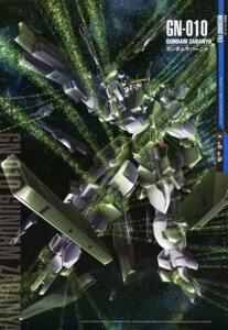 Rating: Safe Score: 10 Tags: gundam gundam_00 gundam_00:_a_wakening_of_the_trailblazer gundam_zabanya mecha takase_kenichi User: Radioactive