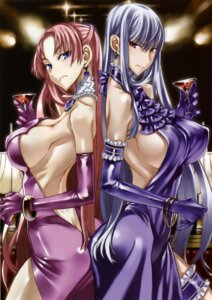 Rating: Questionable Score: 74 Tags: cleavage dress erect_nipples garter honjou_raita juliana_eberhardt selvaria_bles valkyria_chronicles valkyria_chronicles_2 User: Radioactive