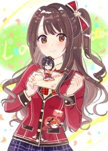 Rating: Safe Score: 18 Tags: chibi igarashi_kyouko kohinata_miho seifuku shimamura_uzuki the_idolm@ster the_idolm@ster_cinderella_girls tomato_omurice_melon User: animeprincess