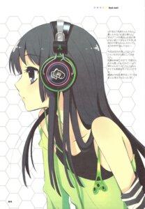 Rating: Safe Score: 47 Tags: akiyama_mio fujitsubo-machine headphones ito_noizi k-on! User: yumichi-sama