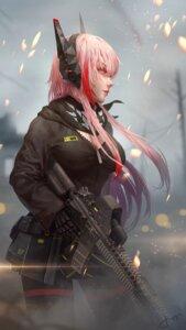 Rating: Safe Score: 12 Tags: cleavage girls_frontline gun jay_xu m4_sopmod_ii_(girls_frontline) pantyhose uniform User: Nepcoheart