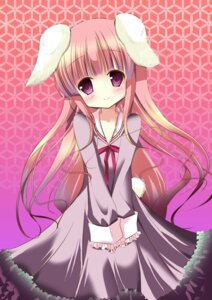 Rating: Safe Score: 17 Tags: animal_ears bunny_ears dress hakamada_hinata kazuta ro-kyu-bu! tail User: TassadaR