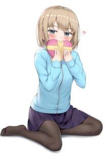 Rating: Safe Score: 26 Tags: nedia_r pantyhose seifuku sweater valentine User: YajuuSenpai