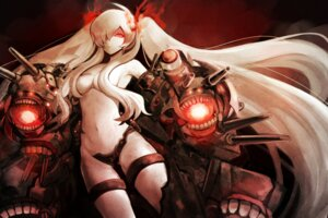 Rating: Questionable Score: 49 Tags: gun harano kantai_collection southern_ocean_war_hime topless User: Radioactive