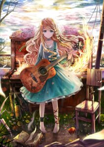 Rating: Safe Score: 48 Tags: akabane dress guitar User: Nekotsúh
