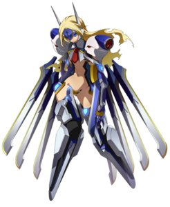 Rating: Safe Score: 33 Tags: blazblue bodysuit mecha_musume mu-12 User: Radioactive