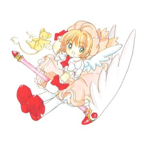 Rating: Safe Score: 3 Tags: card_captor_sakura clamp kerberos kinomoto_sakura tagme User: Omgix