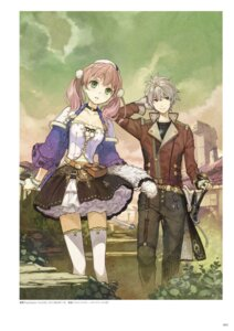 Rating: Safe Score: 20 Tags: atelier atelier_escha_&_logy cleavage digital_version escha_malier hidari jpeg_artifacts logix_ficsario sword thighhighs User: Shuumatsu