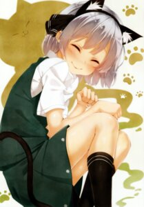 Rating: Safe Score: 39 Tags: alza animal_ears konpaku_youmu nekomimi tail touhou User: Mr_GT