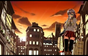 Rating: Safe Score: 28 Tags: fatke landscape thighhighs User: aoie_emesai