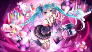 Rating: Safe Score: 19 Tags: 1055 hatsune_miku heels stockings thighhighs vocaloid User: Mr_GT
