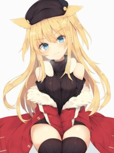 Rating: Safe Score: 54 Tags: animal_ears nibiiro_shizuka thighhighs User: Mr_GT