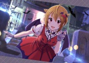 Rating: Safe Score: 18 Tags: dress halloween ibuki_tsubasa shiokazunoko the_idolm@ster the_idolm@ster_million_live! wings User: BattlequeenYume