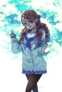 Rating: Safe Score: 18 Tags: hanasaku_iroha pantyhose ringo78 seifuku wakura_yuina User: hobbito