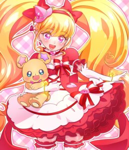 Rating: Questionable Score: 13 Tags: asahina_mirai dress mahou_girls_precure! mofurun_(precure) pretty_cure thighhighs yupiteru User: cosmic+T5