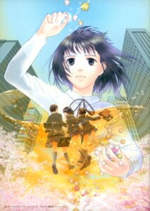 Rating: Safe Score: 9 Tags: funato_akari himawari_lamp seifuku User: Radioactive