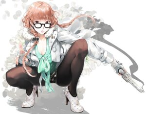 Rating: Safe Score: 35 Tags: cleavage gun megane pantyhose pe-san User: blooregardo