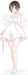 Rating: Safe Score: 44 Tags: dress see_through sino_(sionori) summer_dress wet_clothes User: nphuongsun93