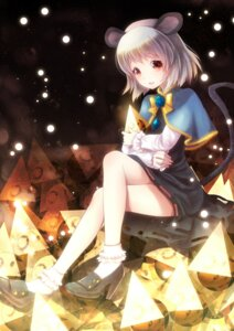 Rating: Safe Score: 36 Tags: animal_ears dress nazrin nunucco tail touhou User: TassadaR