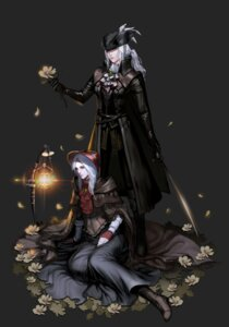 Rating: Safe Score: 14 Tags: bloodborne dress lady_maria_of_the_astral_clocktower lsr plain_doll sword User: charunetra
