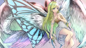 Rating: Safe Score: 28 Tags: breast_hold dress smile_(qd4nsvik) wallpaper wings User: charunetra