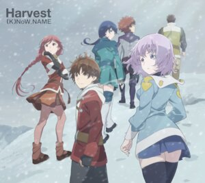 Rating: Safe Score: 33 Tags: disc_cover hai_to_gensou_no_grimgar haruhiro merry moguzo pantyhose ranta shihoru thighhighs yume_(grimgar) User: blooregardo