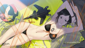 Rating: Safe Score: 50 Tags: ace_combat ace_combat_assault_horizon bikini kozaki_yuusuke nagase_kei swimsuits wallpaper User: gawl