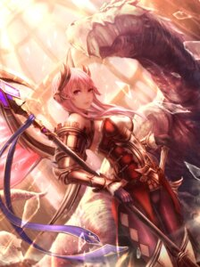 Rating: Safe Score: 58 Tags: armor monster pointy_ears sword weapon yazuo User: nphuongsun93