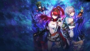 Rating: Questionable Score: 66 Tags: alushe_anatoria armor cleavage gust_(company) heterochromia liliana_selphin sword thighhighs weapon yoru_no_nai_kuni yoru_no_nai_kuni_2 yoshiku User: fly24