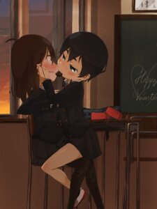 Rating: Questionable Score: 27 Tags: ei_(ss4) pantyhose seifuku valentine yuri User: Radioactive