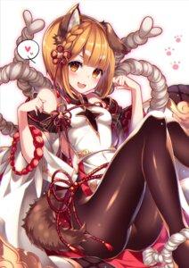 Rating: Safe Score: 35 Tags: animal_ears granblue_fantasy homadelic pantyhose tail vajra_(granblue_fantasy) User: Mr_GT