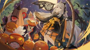 Rating: Safe Score: 22 Tags: bandaid halloween japanese_clothes onmyouji turkey_(weave7769) wings User: RyuZU