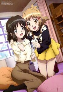 Rating: Safe Score: 20 Tags: kohinata_miku oomori_wataru senki_zesshou_symphogear tachibana_hibiki User: drop