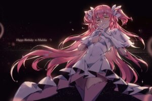 Rating: Safe Score: 33 Tags: cleavage dress kaname_madoka no_bra puella_magi_madoka_magica tagme thighhighs User: Radioactive
