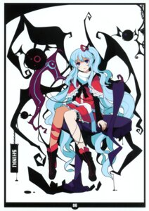 Rating: Safe Score: 26 Tags: ideolo neko_worki shinki touhou User: fireattack