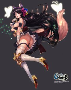 Rating: Explicit Score: 65 Tags: animal_ears anus ass breasts censored cum dress heels kitsune nipples no_bra pantsu panty_pull pussy pussy_juice qbspdl skirt_lift tail thighhighs undressing unleashed User: mash