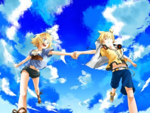Rating: Safe Score: 10 Tags: junji kagamine_len kagamine_rin vocaloid User: Yuffie
