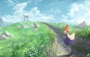 Rating: Safe Score: 28 Tags: dress landscape moriya_suwako touhou you_(shimizu) User: RyuZU