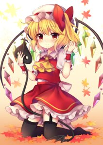 Rating: Safe Score: 33 Tags: flandre_scarlet ruhika stockings thighhighs touhou wings User: Mr_GT