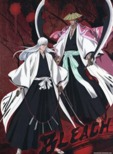 Rating: Safe Score: 5 Tags: bleach male shunsui_kyouraku signed sword ukitake_juushirou User: charunetra