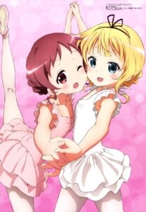 Rating: Safe Score: 72 Tags: dress gochuumon_wa_usagi_desu_ka? kirima_sharo koriron natsu_megumi pantyhose User: drop
