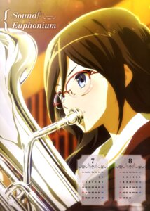 Rating: Safe Score: 34 Tags: calendar hibike!_euphonium megane seifuku tanaka_asuka User: drop